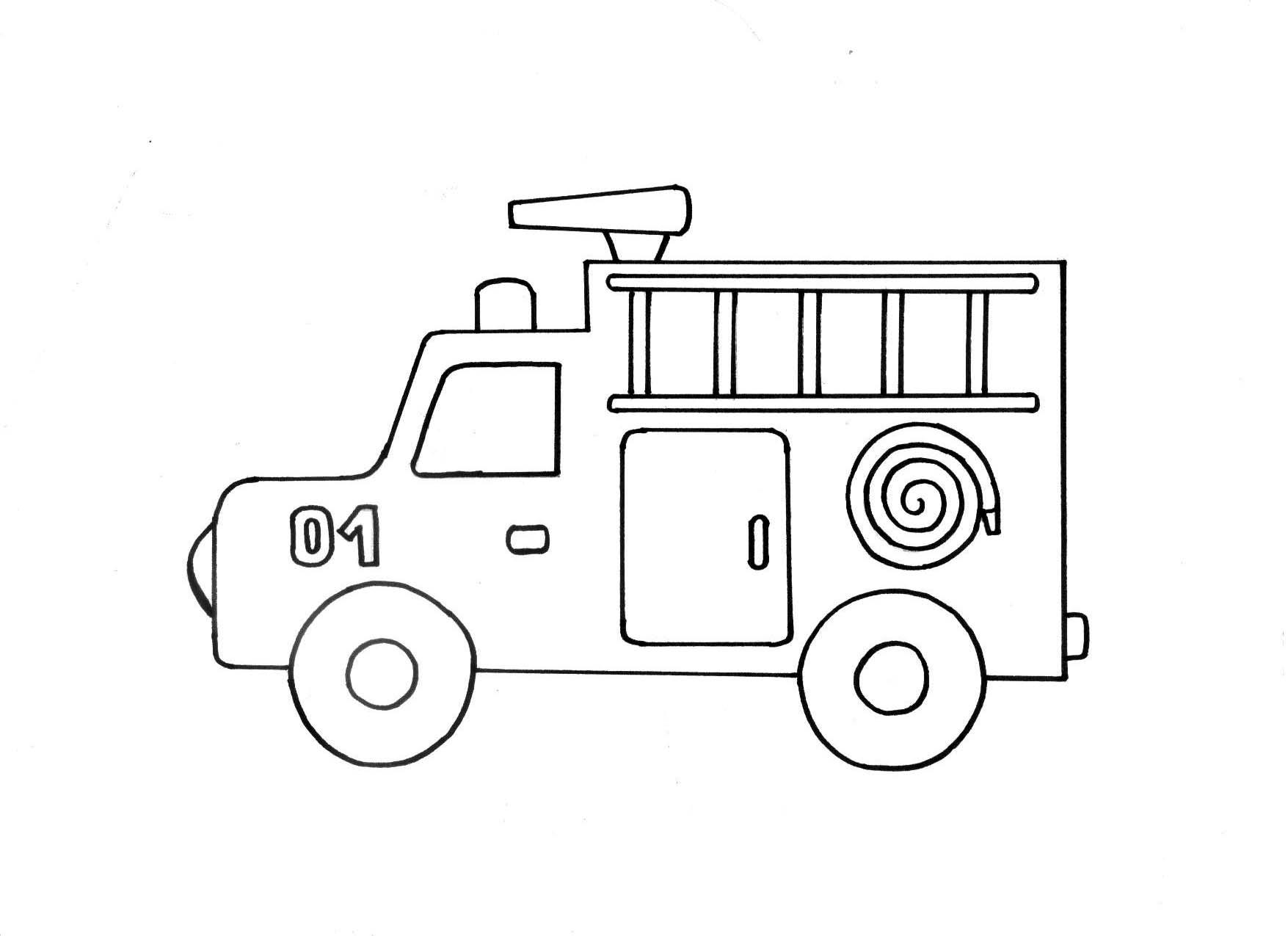 Раскраска для детей машинки скачать